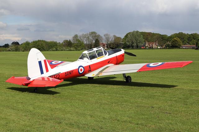 G-BXIM/WK512  -  De Havilland DHC-1 Chipmunk 22 C1/0548  -  EGTH 22/5/21