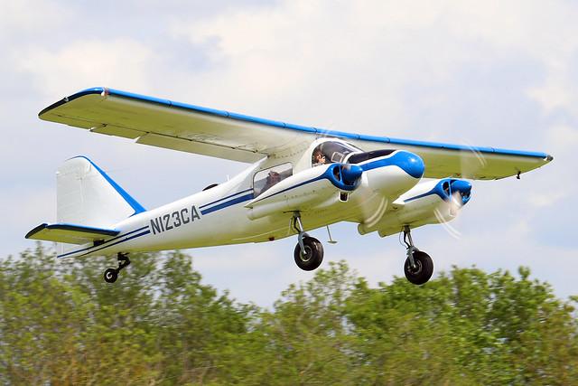 N123CA  -  Dornier Do-28A-1 c/n 3051  -  EGTH 22/5/21