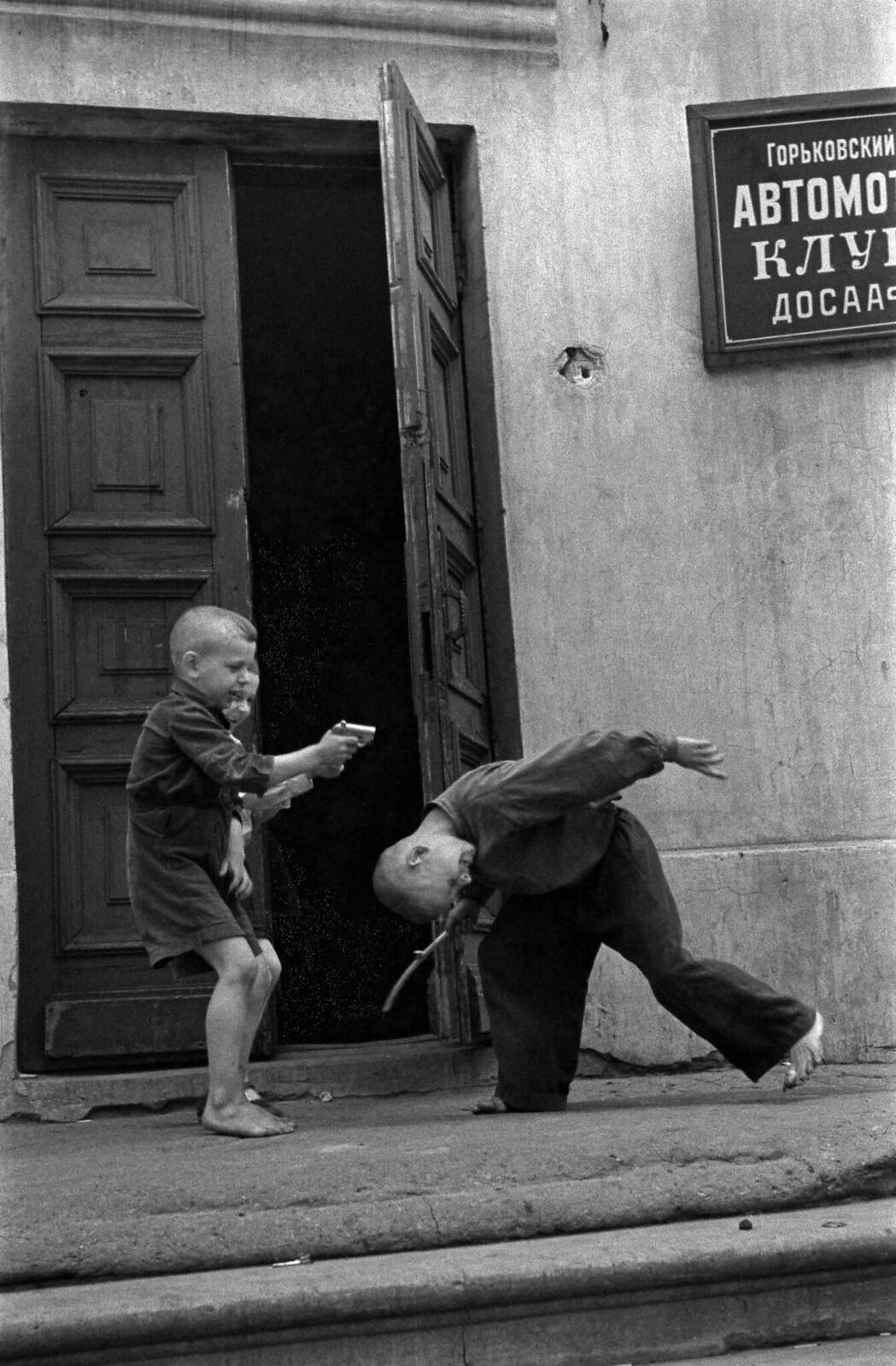 1959. Мужские игры, Горький
