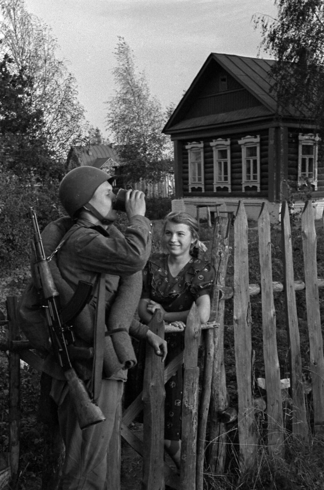 1954. Жаркий день