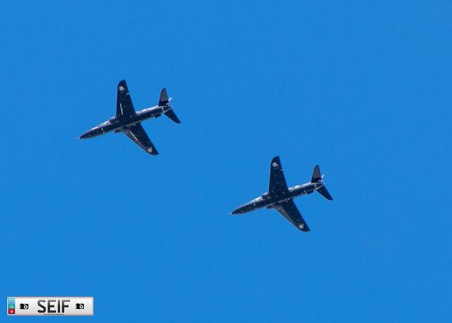 XX329 + XX324  British Aerospace  Hawk T.1W prestwick Scotland 2021