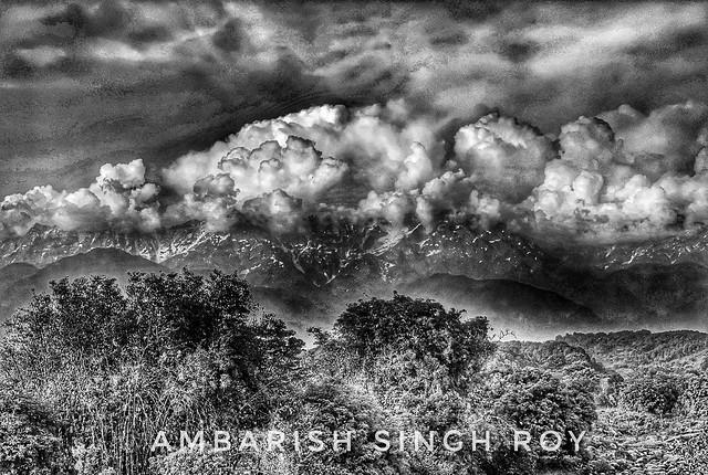 Mountain Cloudscape
