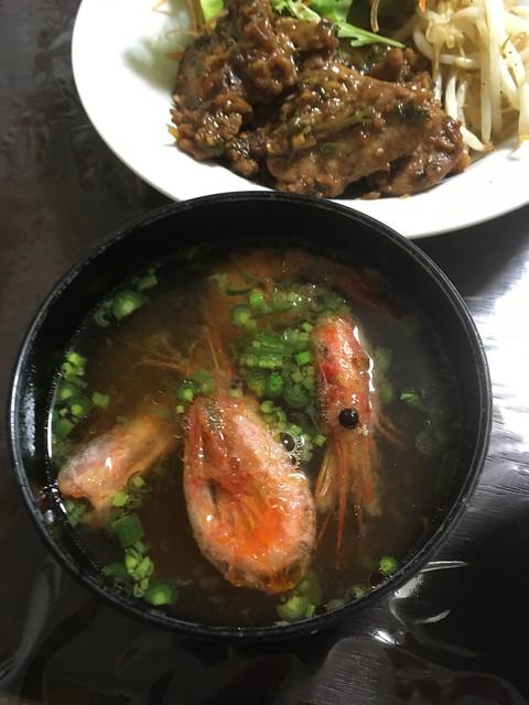 カタハの炒め煮