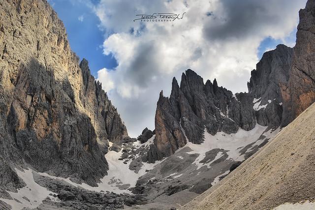 2014 - Dolomiti, Verso Il Rifugio Toni Demetz