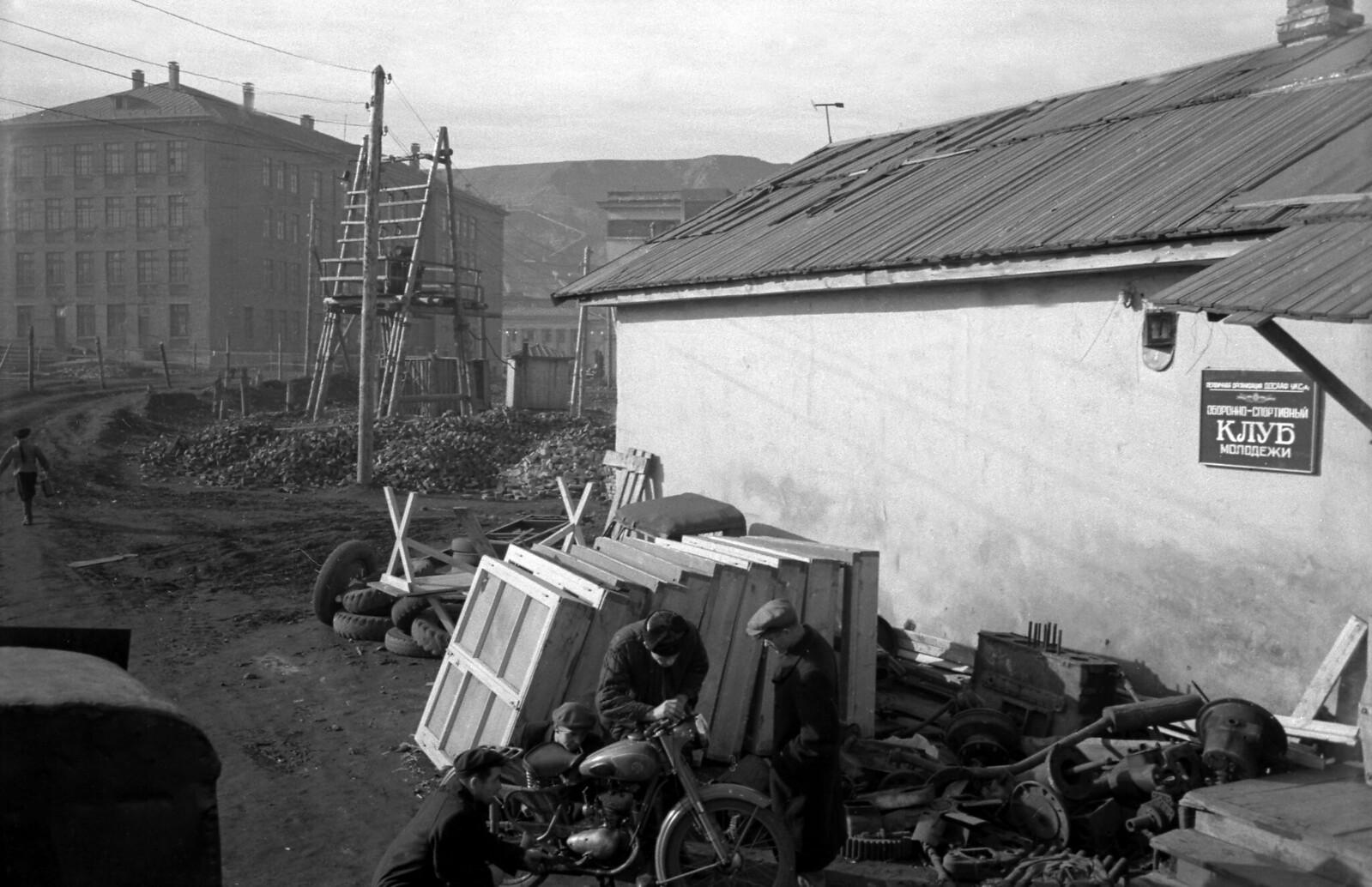 1959.  Рабочая окраина Норильска,