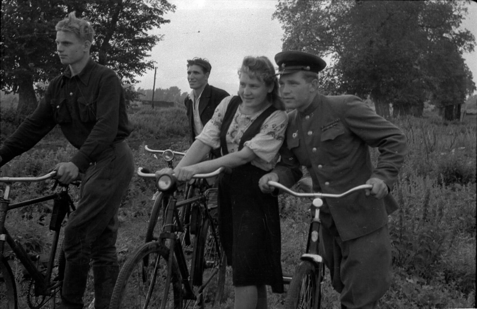 1950.  В послевоенной деревне, август. Тамбовская область