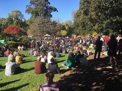 Treasury Gardens - Climate Strike Melbourne 21 May 2021
