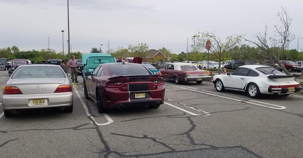 1999 Acura 3.2 TL, 2019 Dodge Charger Scat Pack, 1965 Pontiac LeMans Convertible & 1986 Porsche 911