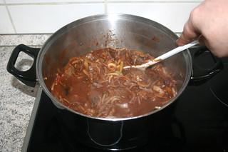 22 - Stir & bring to a boil / Verrühren & aufkochen lassen