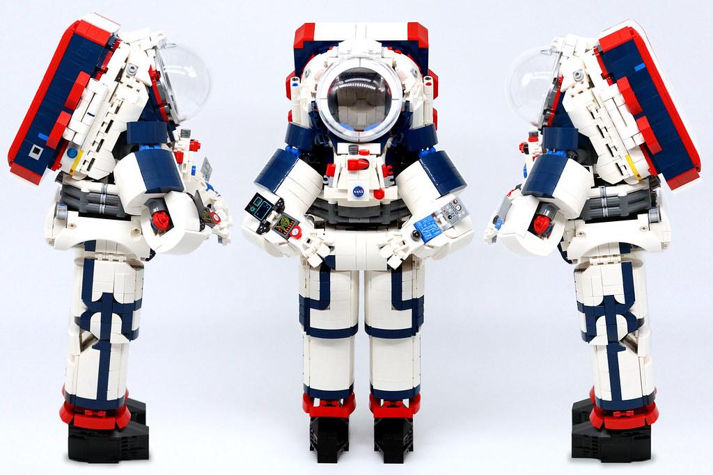 LEGO MOC LEGO Ideas: NASA Artemis Spacesuit