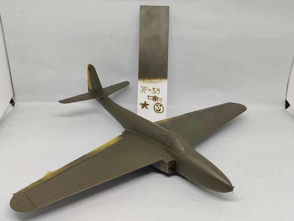Bell YP-59 Airacomet (Hobbycraft 1:48) 51195498159_43486db40b_b