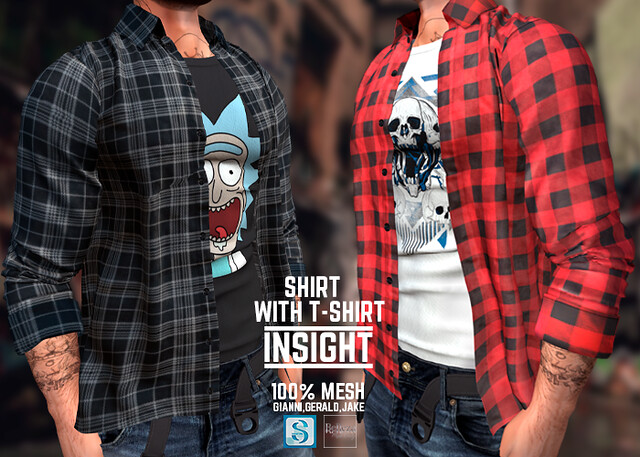 [INSIGHT] Shirt with T-shirt