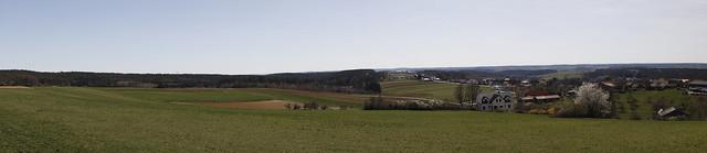 Panorama Südburgenland bei Bad Tatzmannsdorf