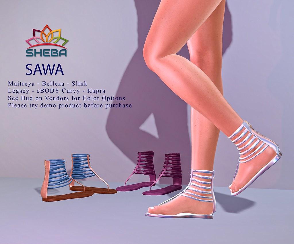 [Sheba] Sawa Sandals @FBF SALE!