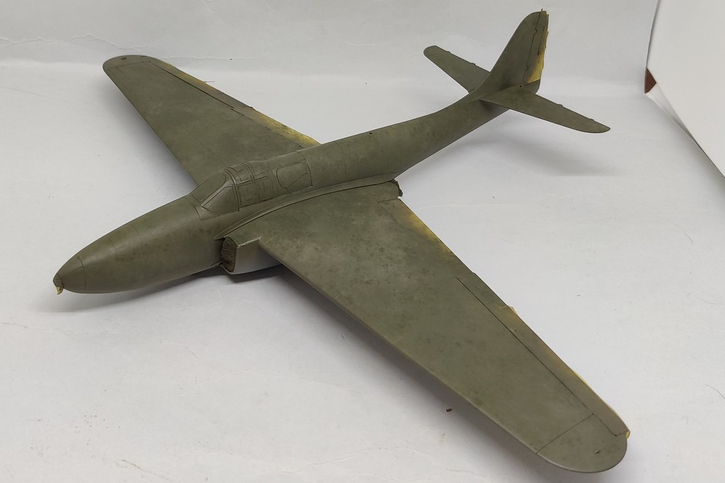 Bell YP-59 Airacomet (Hobbycraft 1:48) 51195790015_ae29528a76_b