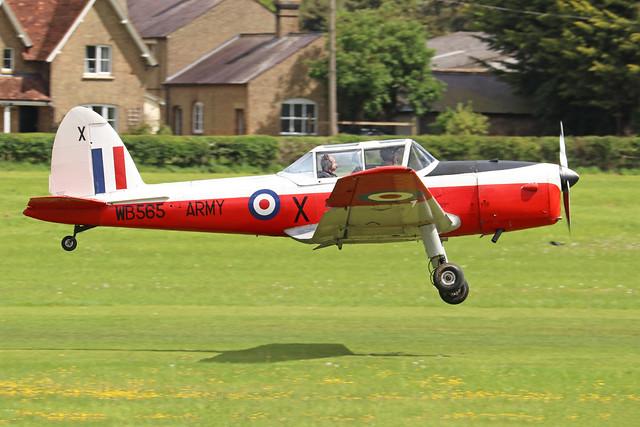 G-PVET/WB565  -  De Havilland Canada DHC-1 Chipmunk 22 c/n C1/0017  -  EGTH 22/5/21