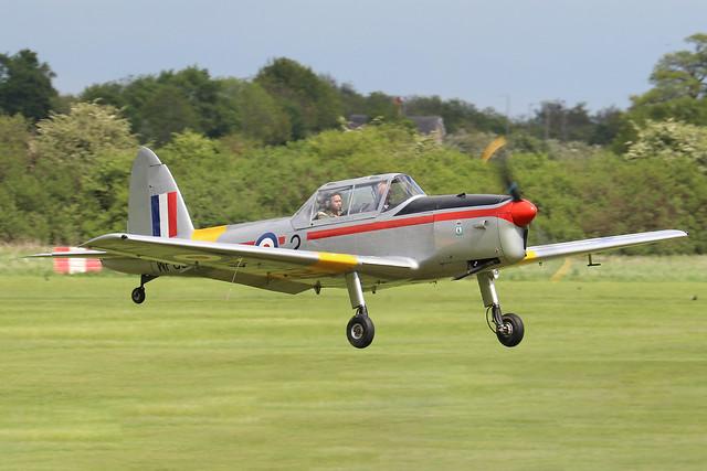 G-BCXN/WP800  -  De Havilland Canada DHC-1 Chipmunk c/n C1/0692  -  EGTH 22-5-21