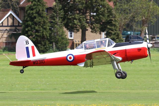 G-BWUN/WD310  -  De Havilland Canada DHC-1 Chipmunk 22 c/n 22/5/21