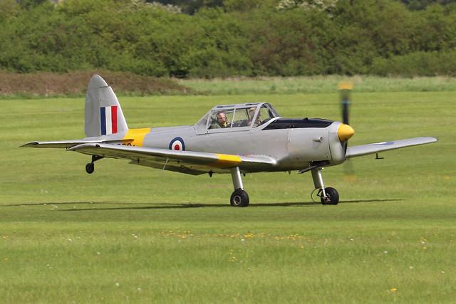 G-BBND/WD286  -  De Havilland DHC-1 Chipmunk 22 c/n C1/0225  -  EGTH 22/5/21