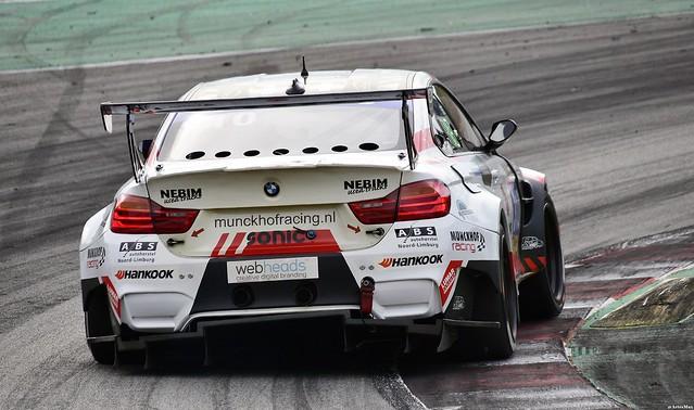 BMW M4 GTR / Eric van den Munckhof / NED / Marco Poland / NED / Ted van Vliet / NED / Marcel Van Berlo / NED / Glenn van Berlo / NED / Munckhof Racing
