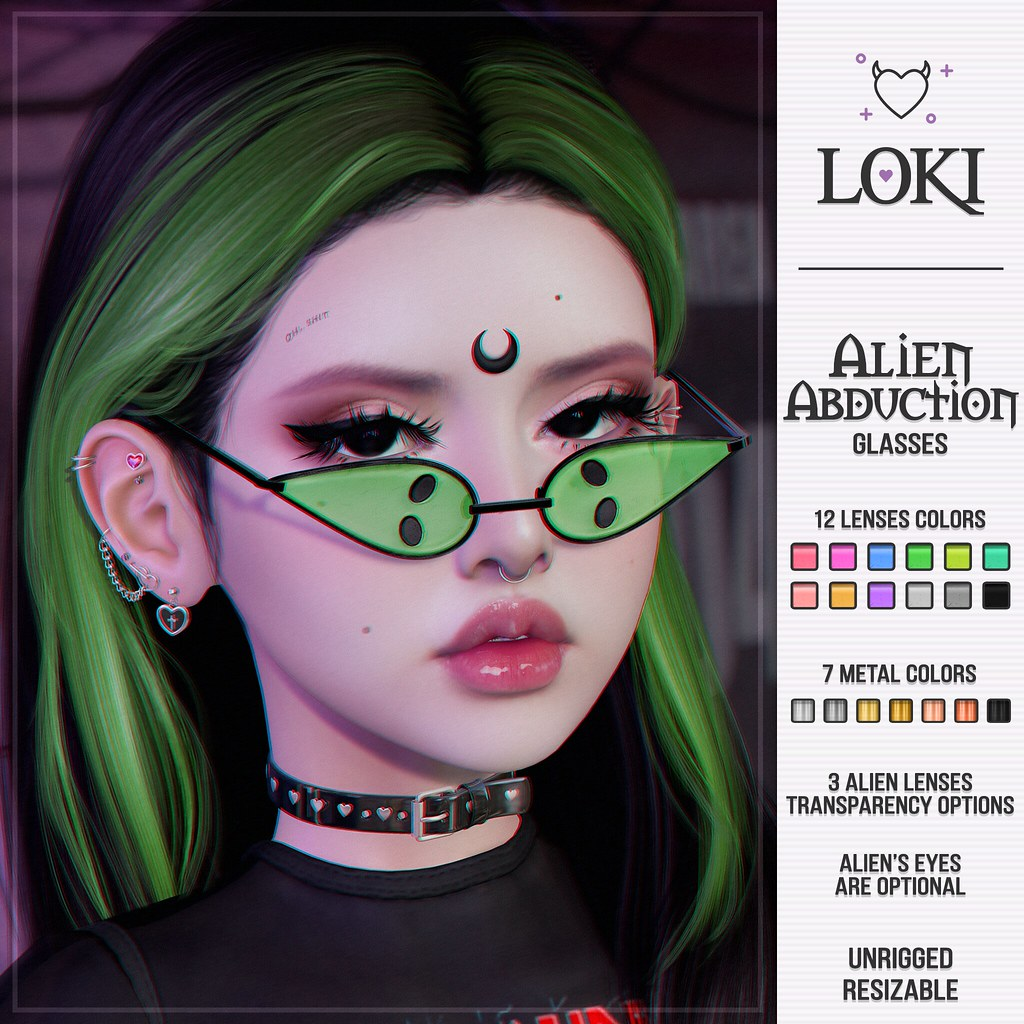 Loki • Alien Abduction Glasses • The Warehouse Sale | May '21