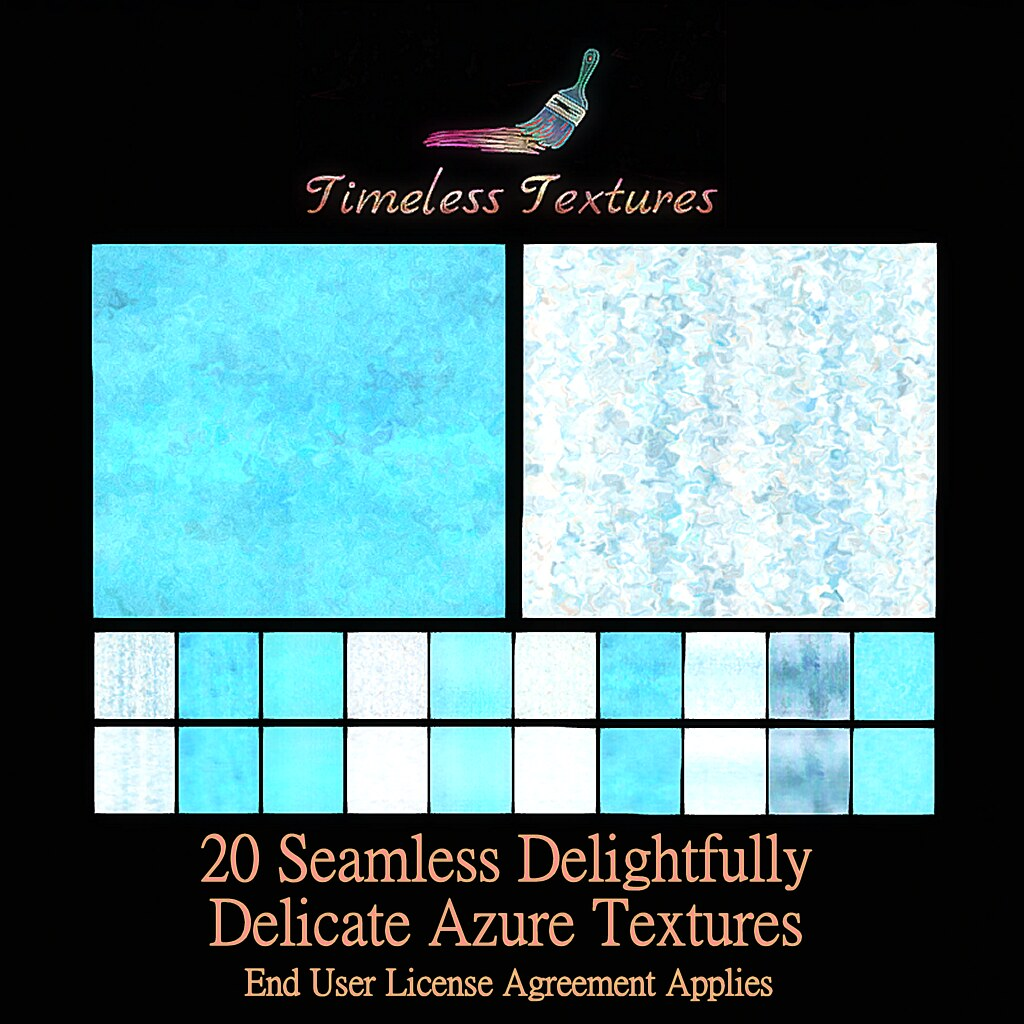 TT 20 Seamless Delightfully Delicate Azure Timeless Textures