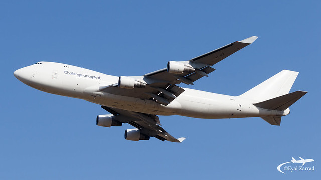 TLV - CAL Cargo Airlines Boeing 747-400F 4X-ICB