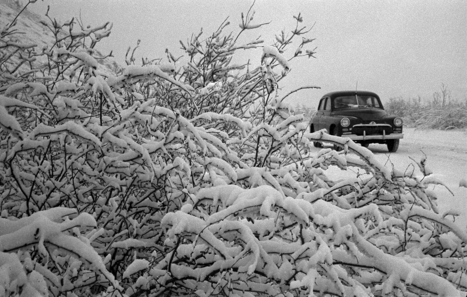 1958. Зима на Колыме, На трассе, декабрь
