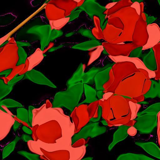 Deep Daze Fourier - Rose Bush