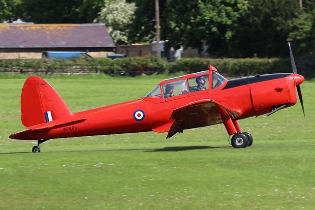 G-BCGC/WP903  -  De Havilland Canada DHC-1 Chipmunk 22 c/n C1/0776  -  EGTH 22-5-21