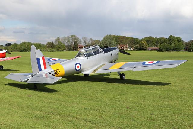 G-BWVY/WP896  -  De Havilland Canada DHC-1 Chipmunk T10 c/n C1/0766  -  EGTH 22-5-21