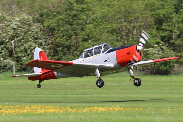 WK635  -  De Havilland Canada DHC-1 Chipmunk T10 c/n C1/0650  -  EGTH 22-5-21C1/0692  -  EGTH 22-5-21