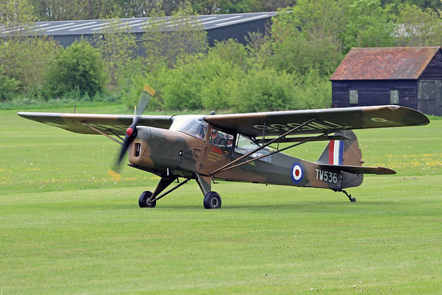 TW536  -  Auster Aircraft Auster AOP-6 c/n 1925  -  EGTH 22/5/21