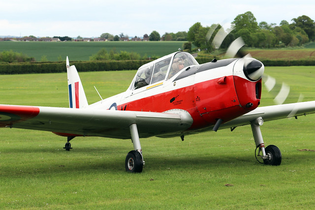 G-BXGP/WZ882  -  De Havilland Canada DHC-1 Chipmunk 22  -  EGTH 22/5/21