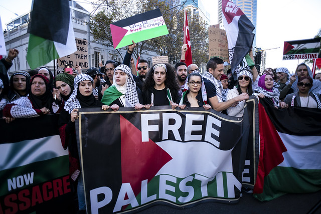 Free Palestine Rally - Melbourne May 22, 2021