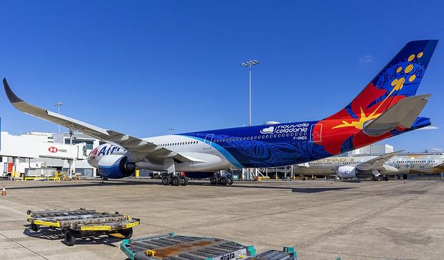 Air Caledonie International Airbus A330-941 F-ONEO SYD-YSSY -1399