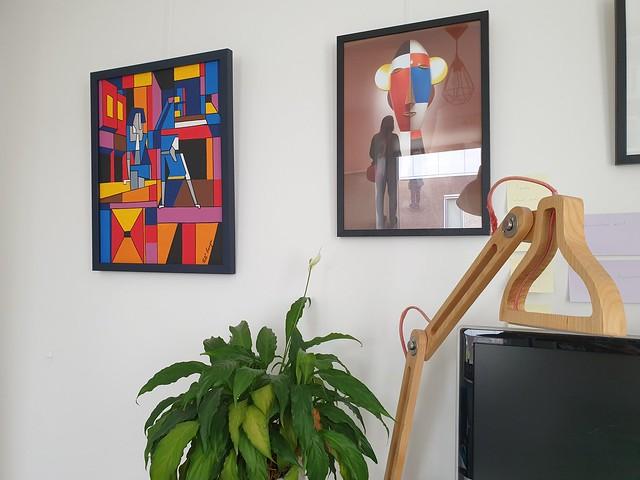 painting framed