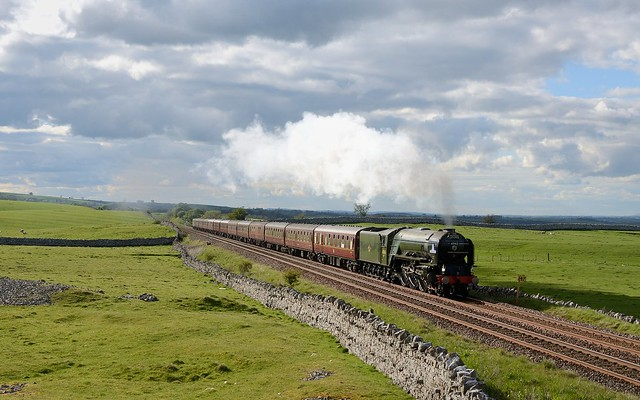 60163 approaching Kirkby Stephen