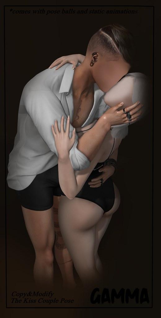 Gamma – The Kiss Couple Pose