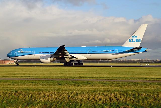 PH-BVO B777-306ER cn 35946 KLM 210109 Schiphol 1003
