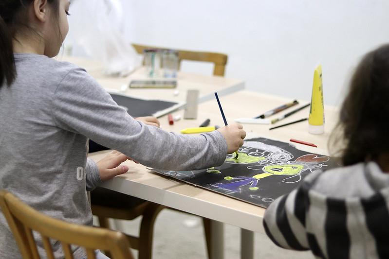 Manuál sprievodcu známymi obrazmi, kids workshop (02.11.2017)