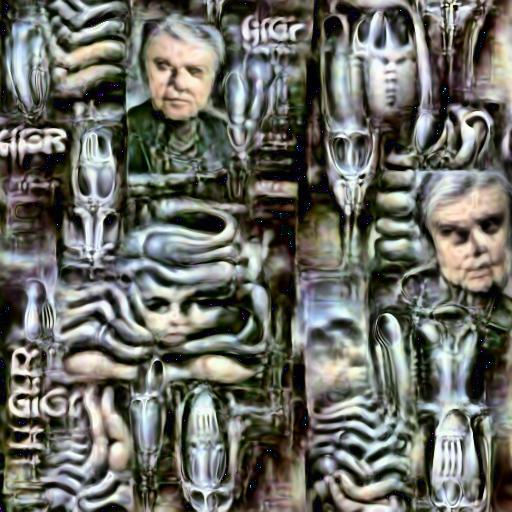 Deep Daze Fourier - H R Giger