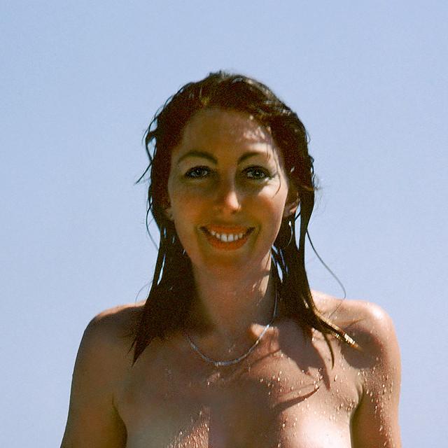 M at Paros 1981 – naked portrait