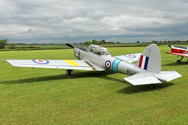 G-BYSJ/WB569  -  De Havilland DHC-1 Chipmunk 22 C1/0021  -  EGTH 22/5/21