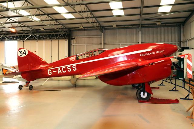 G-ACSS  -  De Havilland DH88 Comet c/n 1996  -  EGTH 22-5-21