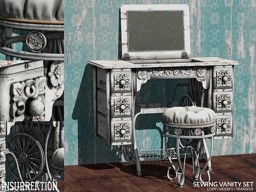 [IK] Sewing Vanity Set