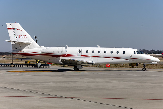N943JS - Cessna 680 Citation Sovereign - flyExclusive- KATL - Mar 2021