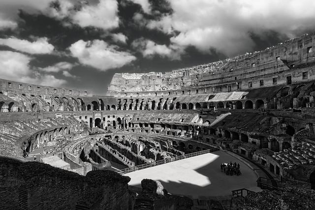 THE COLOSSEUM-ROME-ITALY-AR115W
