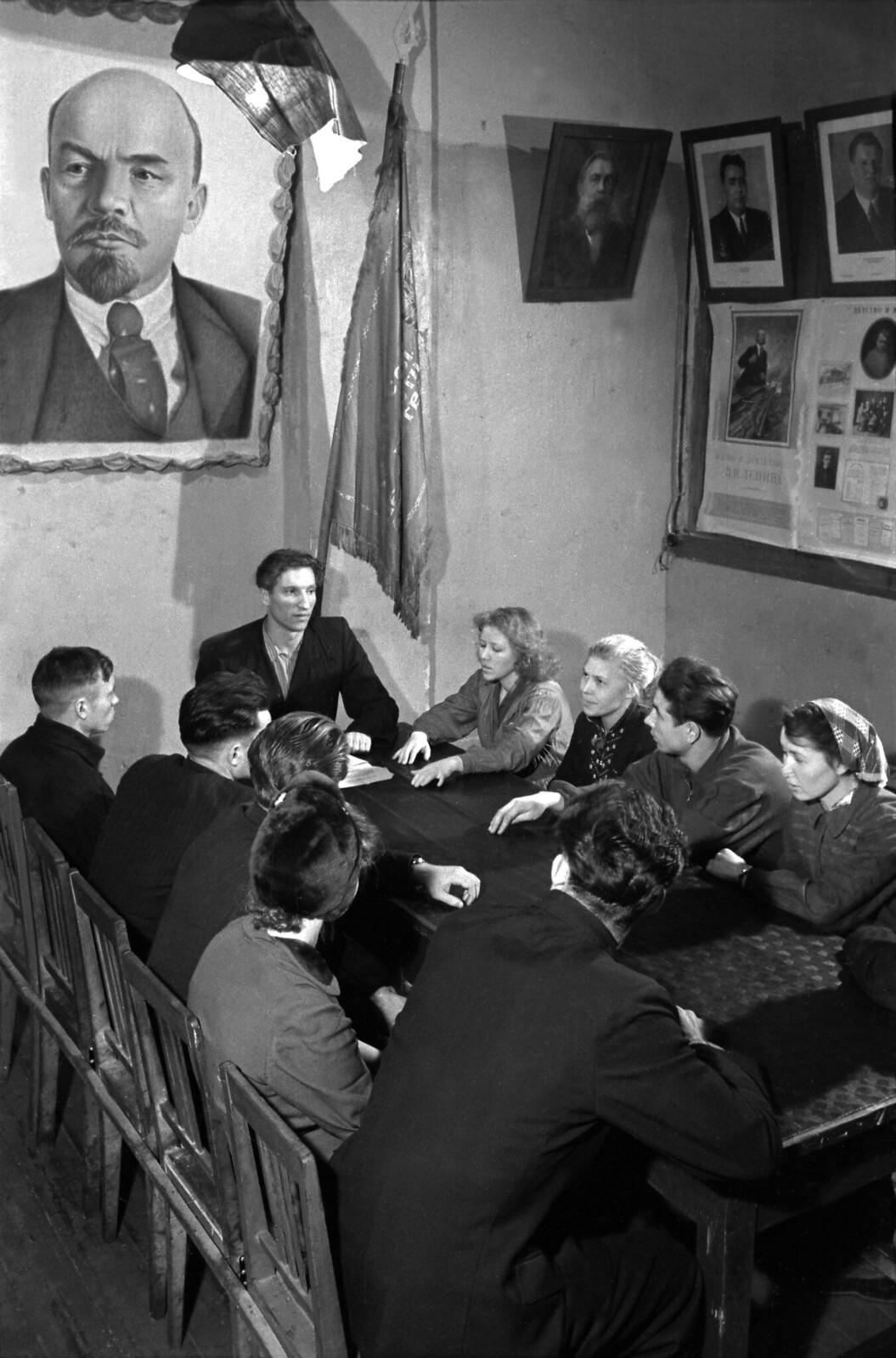 1960. Заседание заводского парткома. Автозавод в Ульяновске