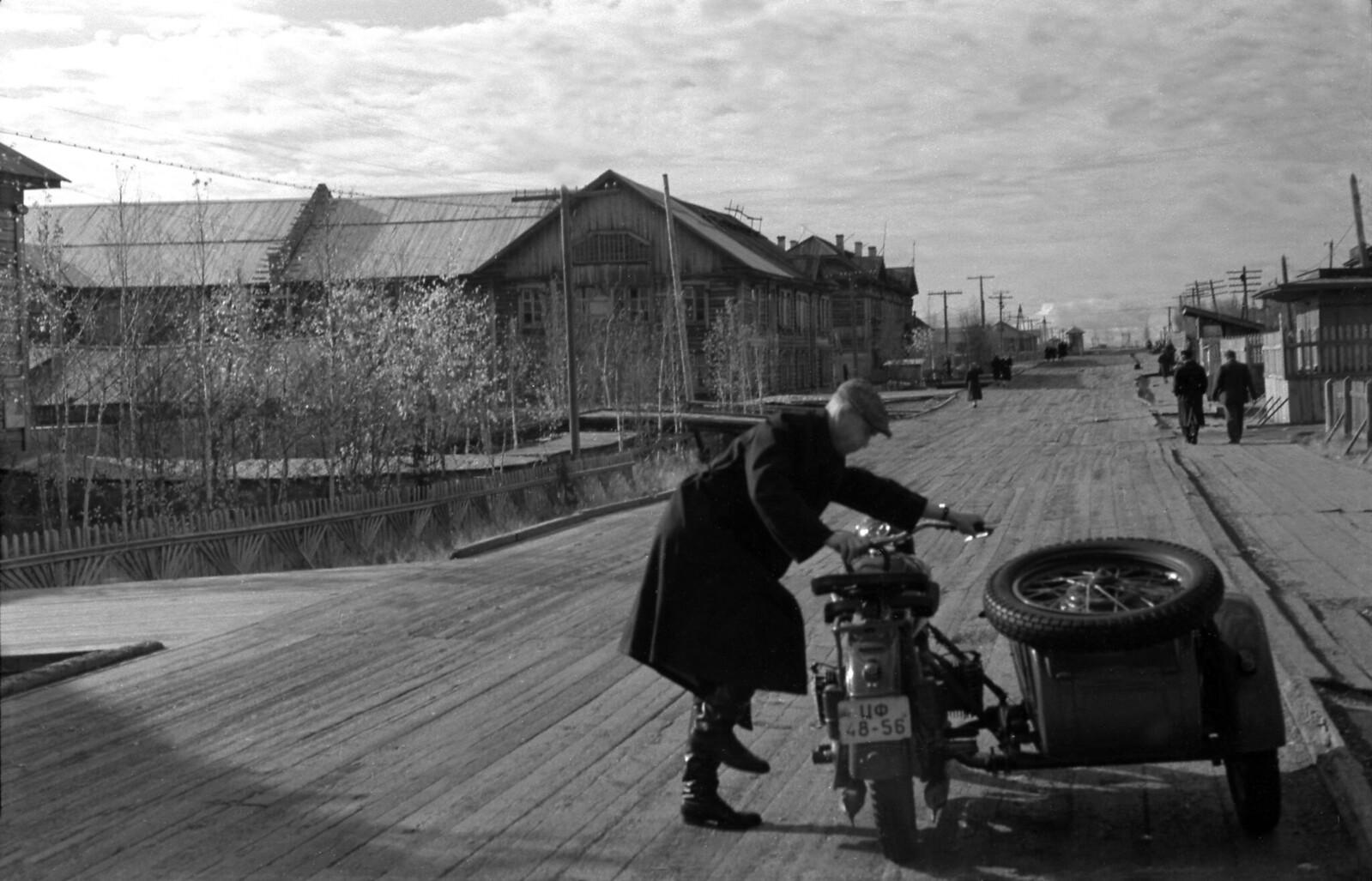 1959. Дудинка, Главная улица